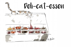Deli-cat-essen-design only