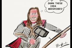 Thor-doing-DIY