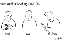 social networking not fun